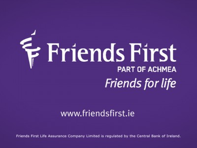 Advert for Friends First Insurance