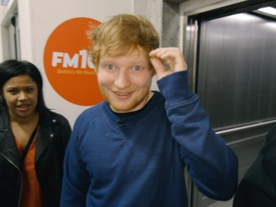 Ed Sheeran surprises Irish fans in cinema ahead of sold-out Dublin gigs!